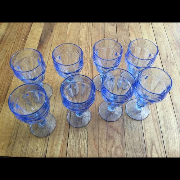 Other - Libbey Blue Glass cobalt vintage